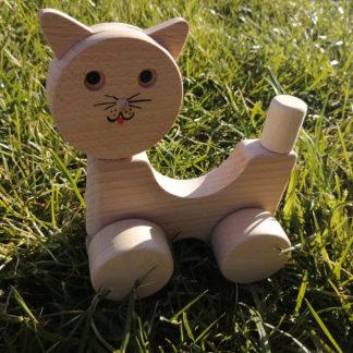 Dřevěná kočka skládací
