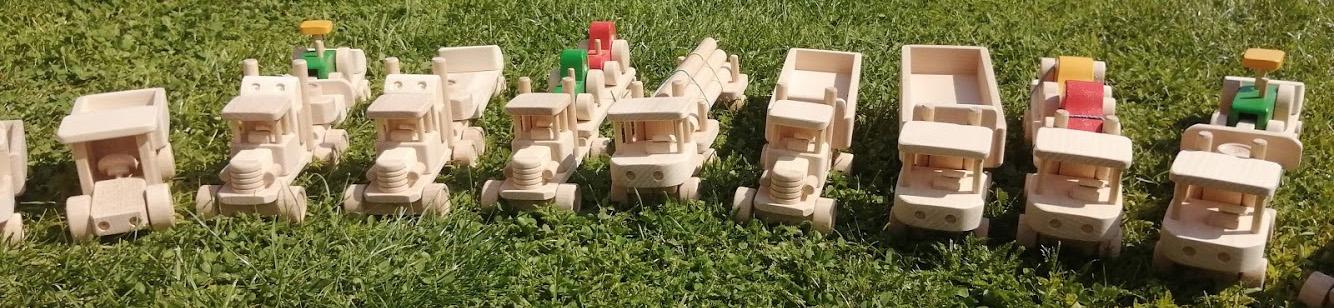 Kategorie dřevěná autíčka