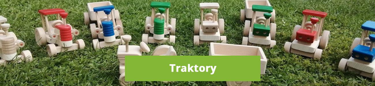 Dřevěné traktory